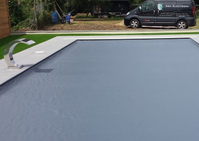 Electric Swimming Pool Cover Install Suffolk