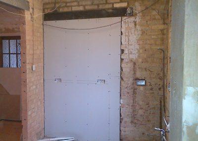 First fix, kitchen refurbishment