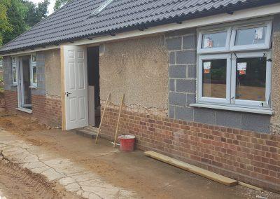 Exterior cabling, First Fix, Suffolk