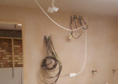 First Fix Wiring Granny Annex Suffolk